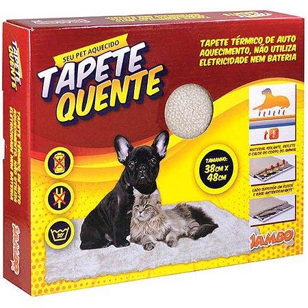 Tapete Quente Jambo Pet com Auto Aquecimento
