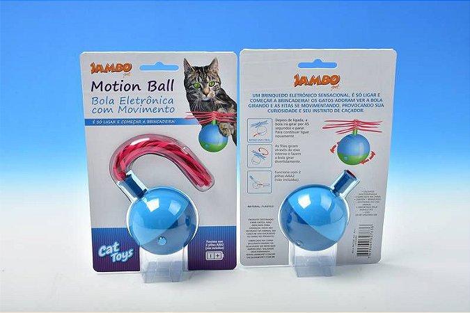 Brinquedo Motion Cat Ball Bola Eletrônica para Gatos