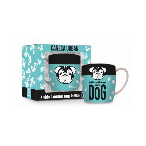 Caneca Porcelana Urban Dog 360ml