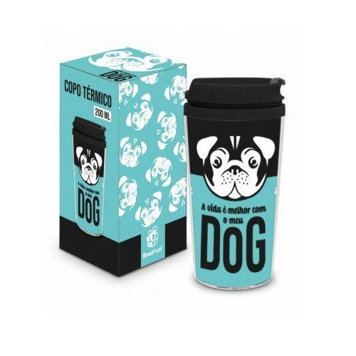 Copo Térmico Smart Dog com Tampa 200ml