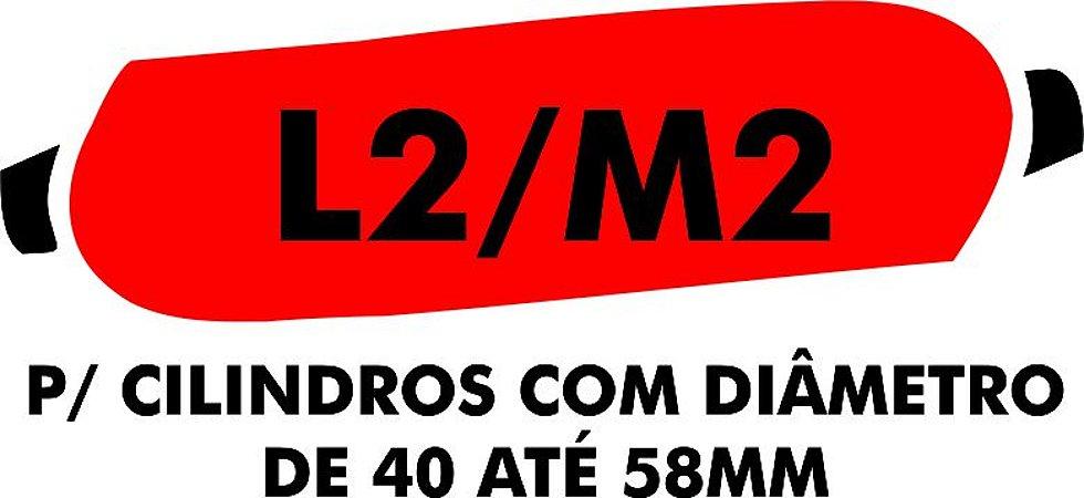B - Camisa molhadora tipo MANCHÃO L2/M2 para cilindros com diâmetro de 40 a 58 mm