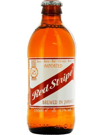 RED STRIPE JAMAICAN LAGER 330ML