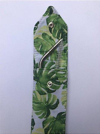 Kit Canudo inox 6 mm curvado - Amazônia