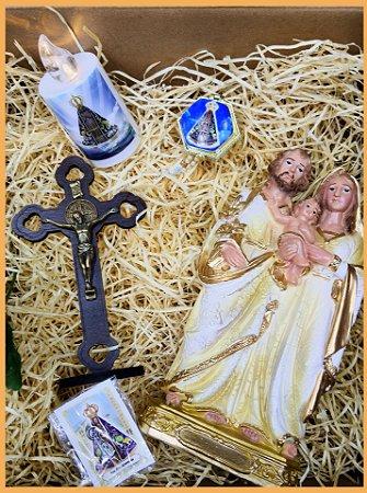 Box devoção Sagrada Família