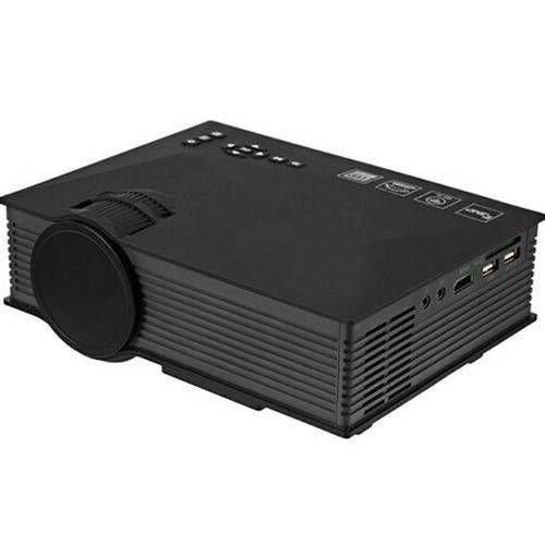 MINI PROJETOR LED 130 POLEGADAS UC46 1200 LUMENS HDMI