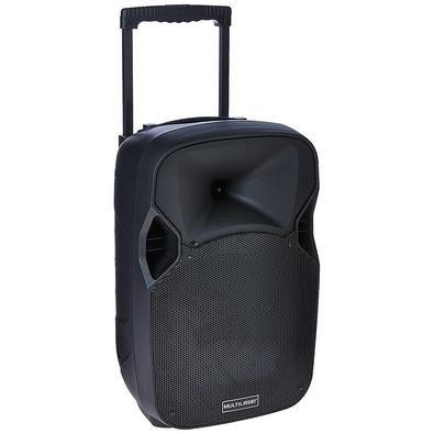 Caixa De Som Amplificadora Com Alça 150W Rms Trolley Multilaser SP200