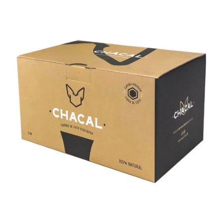 Carvão Chacal Hexagonal 1Kg
