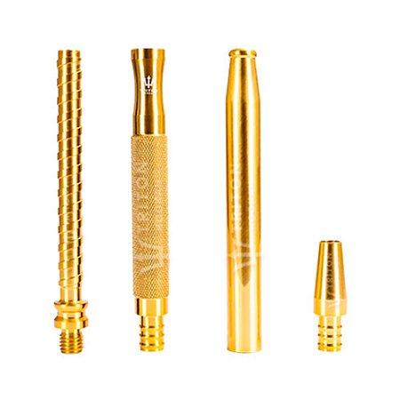 Piteira Triton X Handle - Dourado/Dourado