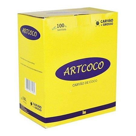 Carvão Artcoco Grosso (Importado) - 1Kg