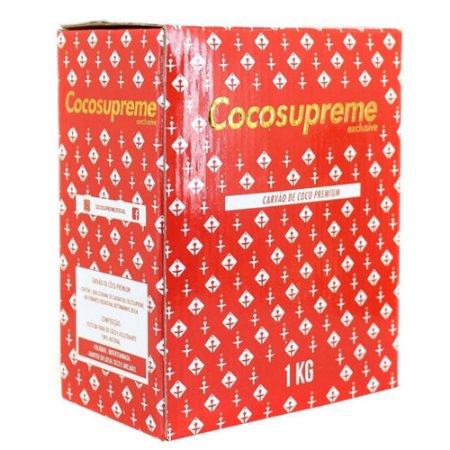 Carvão Coco Supreme 1kg