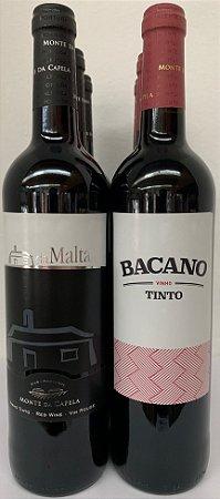 KIT COM 03 Bacano Tinto 750 ml + 03 Da Malta Tinto 750ml