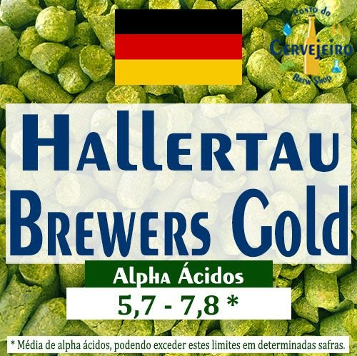 Lupulo Brewers Gold Alemão - 50g
