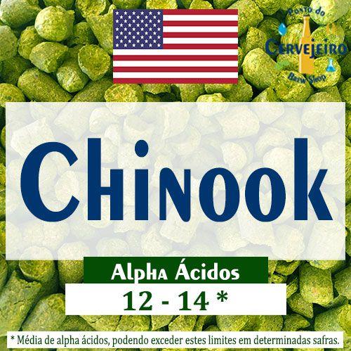 Lúpulo Chinook Americano - 50g