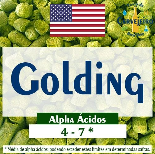 Lúpulo Golding Americano - 50g