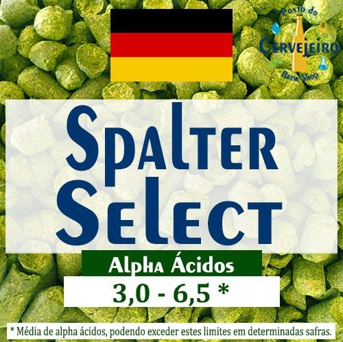 Lupulo Spalter Select Hallertau Alemao - 50g