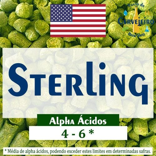 Lupulo Sterling Americano - 50g