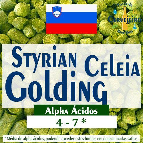 Lupulo Styrian Golding Celeia Eslovenia - 50g