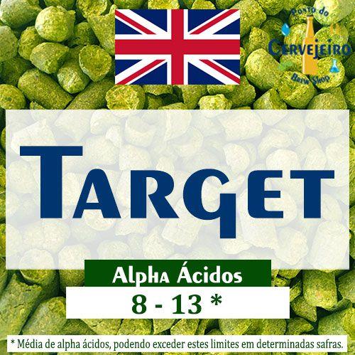 Lúpulo Target Reino Unido - 50g