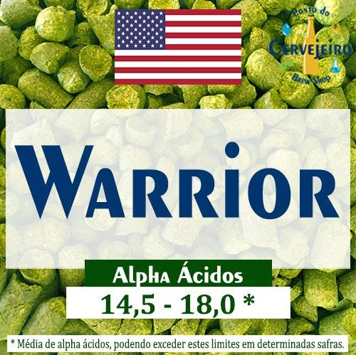 Lupulo Warrior Americano - 50g