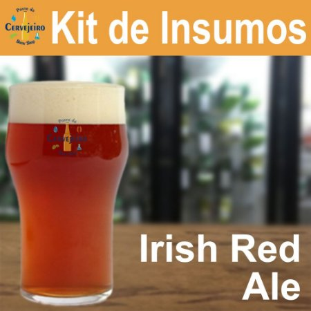 KIT INSUMOS IRISH RED ALE 20 LITROS