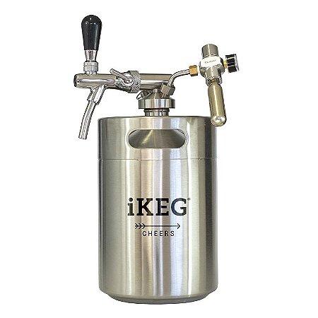 Kit iKeg 5 LT inox Torneira Italiana