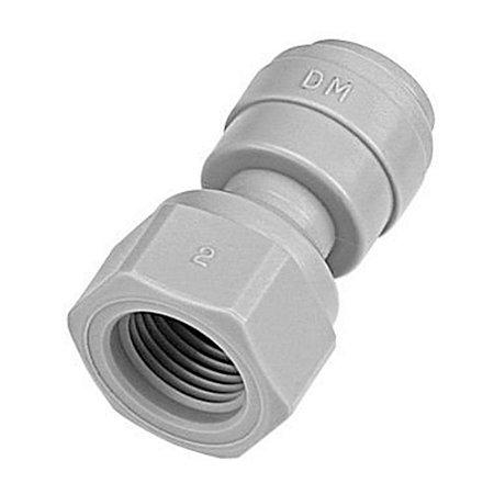 DMFIT - Conexao Engate Rapido tubo 3/8 x 1/4 Femea Npt