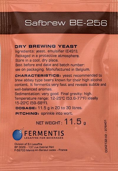 Levedura Fermento Fermentis BE-256 11g