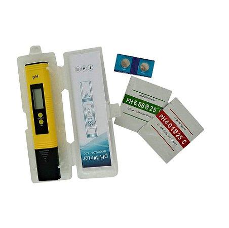 Medidor de PH de bolso digital alta precisão