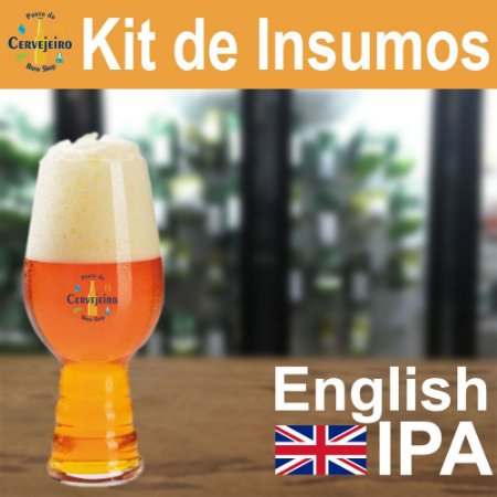Kit Insumos English IPA do Ponto