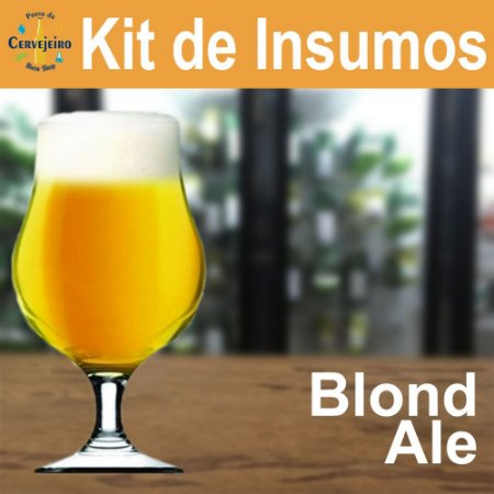 Kit Insumos Blond Ale Ponto