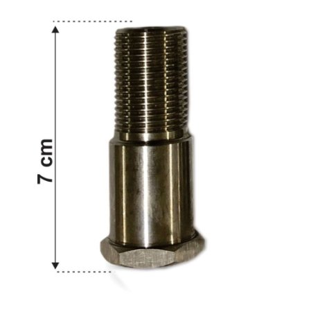 Prolongador Inox 5/8 7 CM