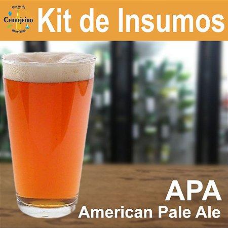 Kit Insumos APA American Pale Ale do Ponto
