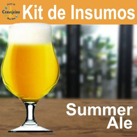 Kit Insumos Summer Ale Ponto