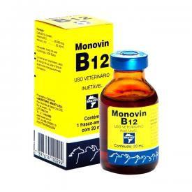 MONOVIN B12 INJ 20 ML