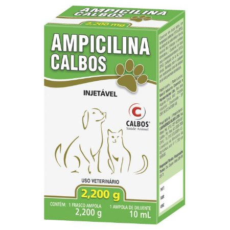 AMPICILINA 2,2 G INJ. 10 ML