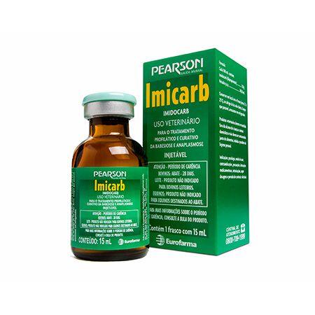 IMICARB INJ FR 15 ML