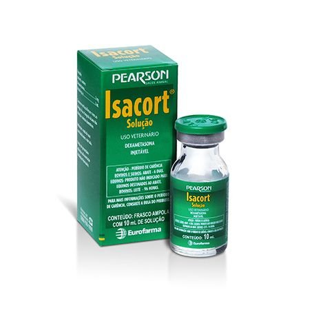 ISACORT INJ FR 10 ML