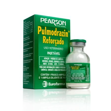 PULMODRAZIN REFORÇADO 10 ML