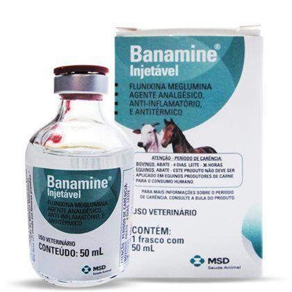 BANAMINE INJ. FR 50 ML