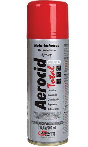 AEROCID TOTAL PRATA 200 ML
