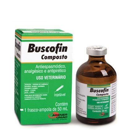 BUSCOFIN COMPOSTO INJ. 50 ML