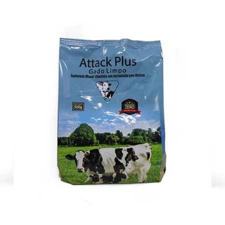 ATTACK PLUS GADO LIMPO 500 GR