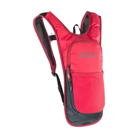 Mochila Cc 2 Litros + Bolsa de Hidratação 2 Litros Vermelho