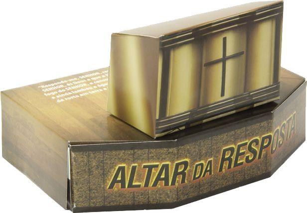 Caixinha Altar da Resposta - 50 unidades