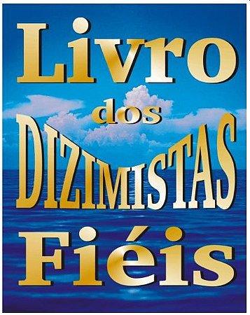 Livro dos Dizimistas Fiel Gigante - 1 unidade