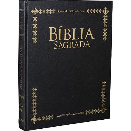 Bíblia de Púlpito Letra Extra Gigante - 1 unidade