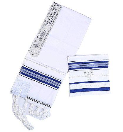 Talit Judaico de Oração - 1 unidade