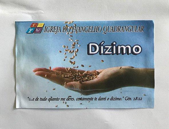 Envelope de Dizimo IEQ - 100 UN