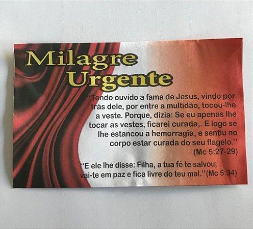 Envelope Milagre Urgente