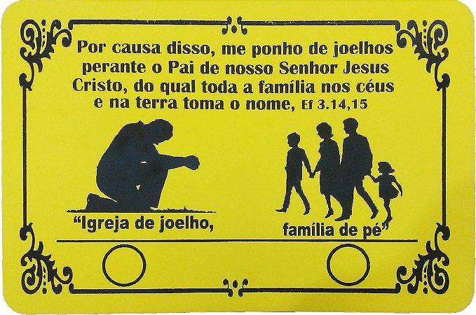 Tapete Oração da Família - 25 un